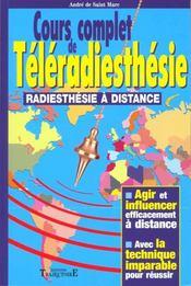 Cours Complet De Teleradiesthesie - Intérieur - Format classique