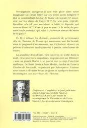 Les destins tragiques de l'histoire de France - 4ème de couverture - Format classique