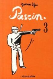 Pascin t.3 - Couverture - Format classique