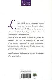 L'encre violette - 4ème de couverture - Format classique