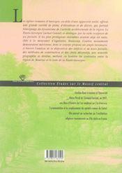 La Pierre Et Le Seuil. Portails Romans En Haute-Auvergne - 4ème de couverture - Format classique