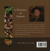 La Chataigne Du Limousin - 4ème de couverture - Format classique