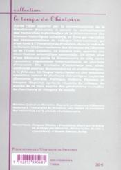 La Revolution Francaise Au Carrefour Des Recherches - 4ème de couverture - Format classique