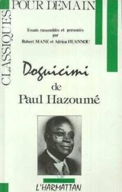 Doguicimi De Paul Hazoume - Couverture - Format classique