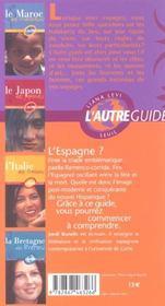 Guide Espagne Des Espagnols - 4ème de couverture - Format classique