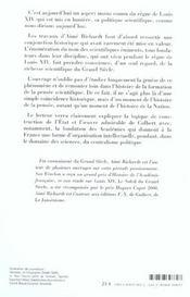 Savants Du Roi Soleil - 4ème de couverture - Format classique