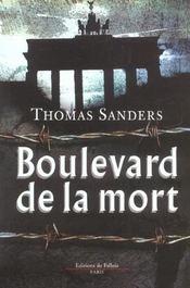 Boulevard de la mort - Intérieur - Format classique