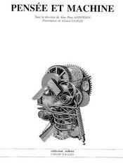 Pensée et machine - Couverture - Format classique