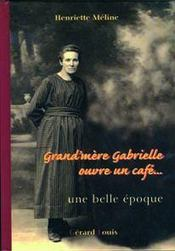 Grand-mère Gabrielle ouvre un café - Intérieur - Format classique