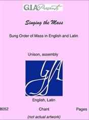 Vente  Singing the mass ; sung order of mass in english and latin  - Xxx - Collectif