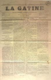 Gatine (La) N°16 du 10/06/1870 - Couverture - Format classique