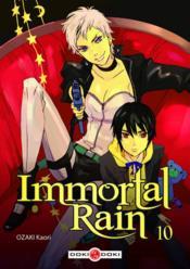 Immortal rain t.10 - Couverture - Format classique