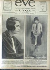 Eve N°291 du 25/04/1926 - Couverture - Format classique