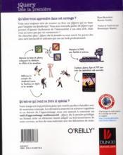 JQuery - 4ème de couverture - Format classique