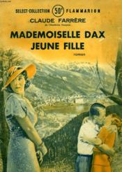 Mademoiselle Dax Jeune Fille. Collection : Select Collection N° 33 - Couverture - Format classique