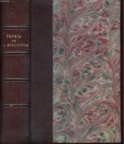 La Teoria De La Evolucion A Los Cien Anos De La Obra De Darwin - Couverture - Format classique