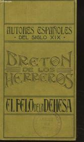 El Pelo De La Dehesa. Comedia En Cinco Actos. - Couverture - Format classique