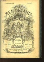 LE JOURNAL DES ENFANTS 72ème année - Janvier à décembre 1894 - Couverture - Format classique