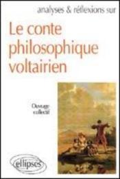 Conte Philosophique Voltarien - Couverture - Format classique