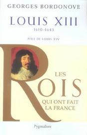 Louis XIII ; 1610-1643 ; père de Louis XIV - Intérieur - Format classique