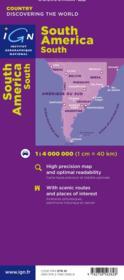 Amérique du Sud - 4ème de couverture - Format classique