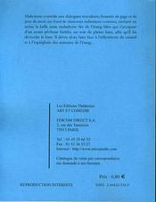 La mélodie de l'étang bleu - 4ème de couverture - Format classique