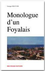 Monologue d'un foyalais - Couverture - Format classique