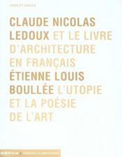 Claude Nicolas Ledoux-Etienne Louis Boullee - Intérieur - Format classique