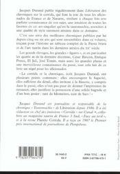 Chroniques Taurines - 4ème de couverture - Format classique