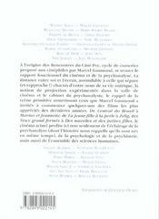 Le Cinema. Ame Soeur De La Psychanalyse - 4ème de couverture - Format classique