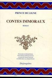 Contes Immoraux - Couverture - Format classique