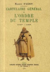 Cartulaire général de l'ordre du Temple ; 1119?-1150 - Couverture - Format classique