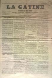 Gatine (La) N°17 du 19/06/1870 - Couverture - Format classique