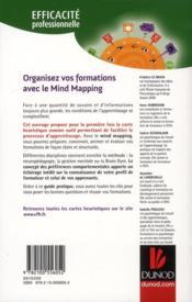 Organisez vos formations avec le mind mapping - 4ème de couverture - Format classique