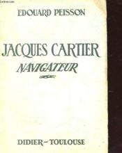 Jacques Cartier Navigateur - Couverture - Format classique