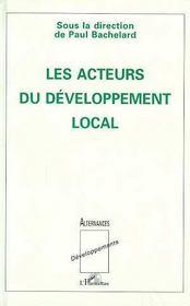 Les acteurs du développement local - Intérieur - Format classique