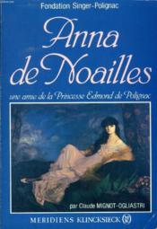 Anna De Noailles - Couverture - Format classique