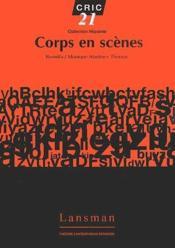Corps en scènes - Couverture - Format classique