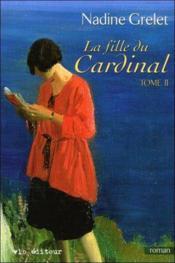 La fille du cardinal t 02 - Couverture - Format classique