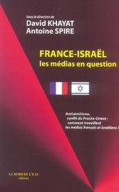 France-isarel,les medias en question - Intérieur - Format classique
