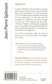 Sébastien - 4ème de couverture - Format classique
