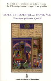 Experts Et Expertises Au Moyen Age - Couverture - Format classique