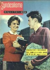Syndicalisme Magazine Cftc N°847 du 01/10/1961 - Couverture - Format classique