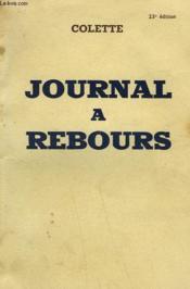 Journal A Rebours. - Couverture - Format classique