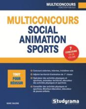 Vente  Multiconcours ; social animation sports  - Marc Dalens