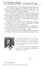 Yanomamis - 4ème de couverture - Format classique