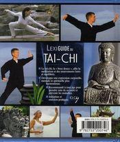 Lexiguide du tai-chi - 4ème de couverture - Format classique