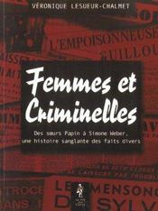 Femmes et criminelles - Intérieur - Format classique