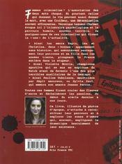Femmes et criminelles - 4ème de couverture - Format classique