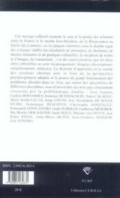 La France Et Le Monde Luso-Bresilien. Echanges Et Representations, 16 -18e Siecles - 4ème de couverture - Format classique